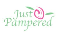 just pampered logo, bookkeeping client